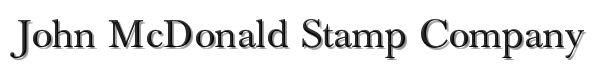 John McDonald                                               Stamp Company